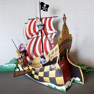 Vintage Disney Papercraft: Peter Pan Dioramas