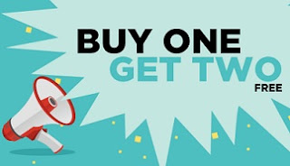 Jabong: Buy 1 Get 2 Free Offer on Men's Women's Clothing | Footwear & Accessories