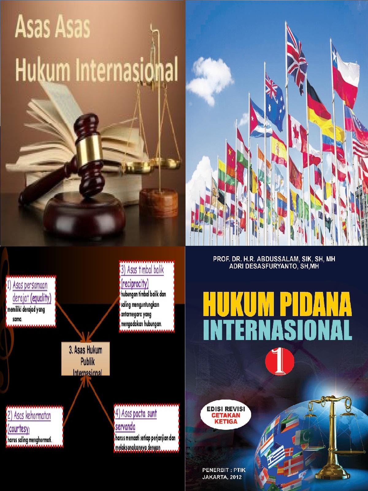 Asas Asas Hubungan Internasional : hubungan, internasional, Hukum, Internasional