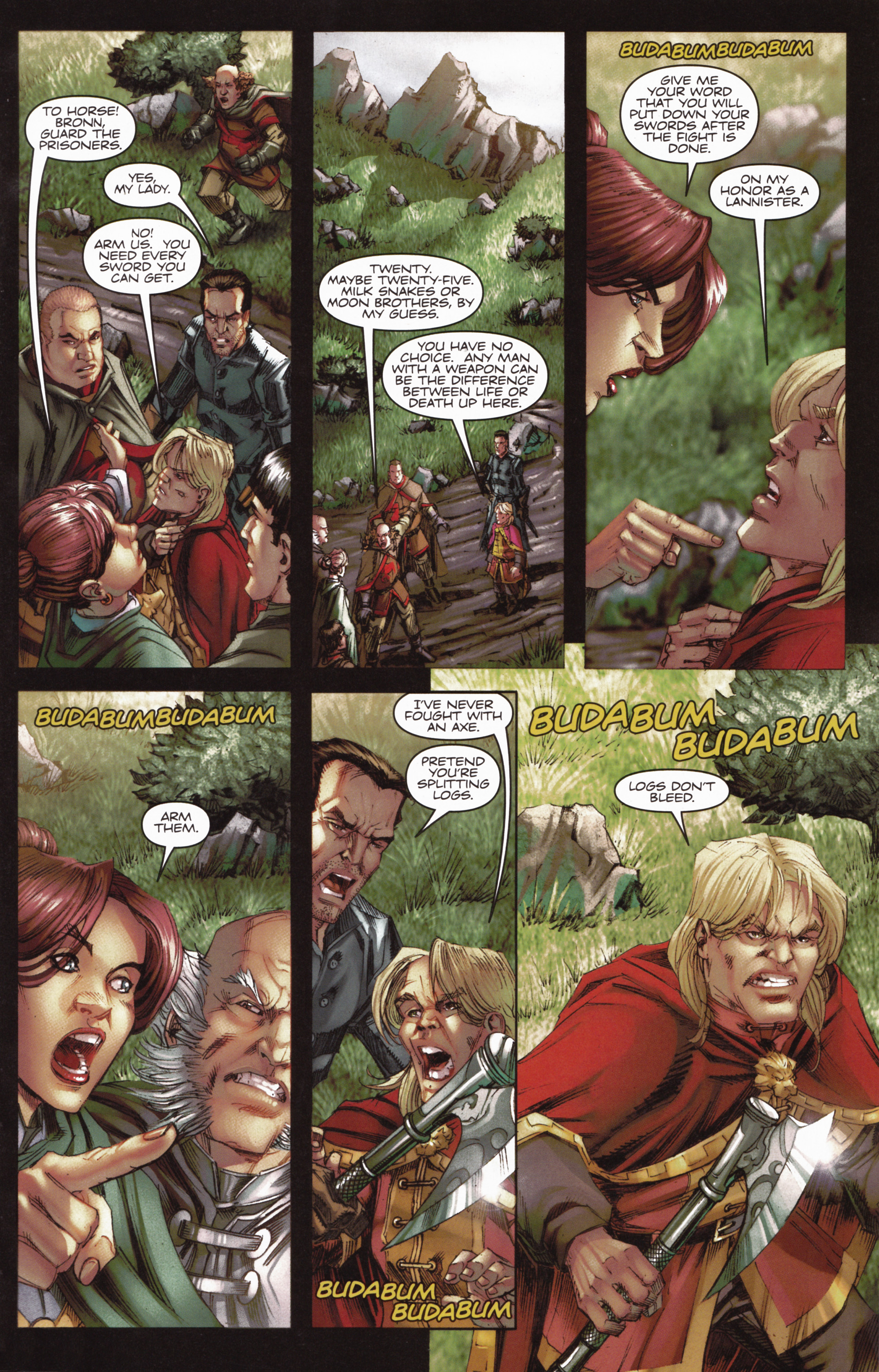 Read online A Game Of Thrones comic -  Issue #10 - 9
