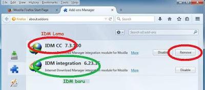 Cara Integrasi IDM CC pada Firefox dengan IDM Baru