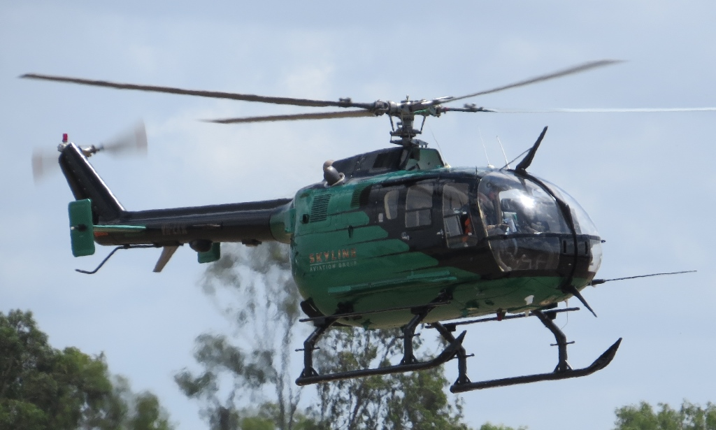 Central Queensland Plane Spotting Skyline Aviation NSW MBB BO105 S Helicop