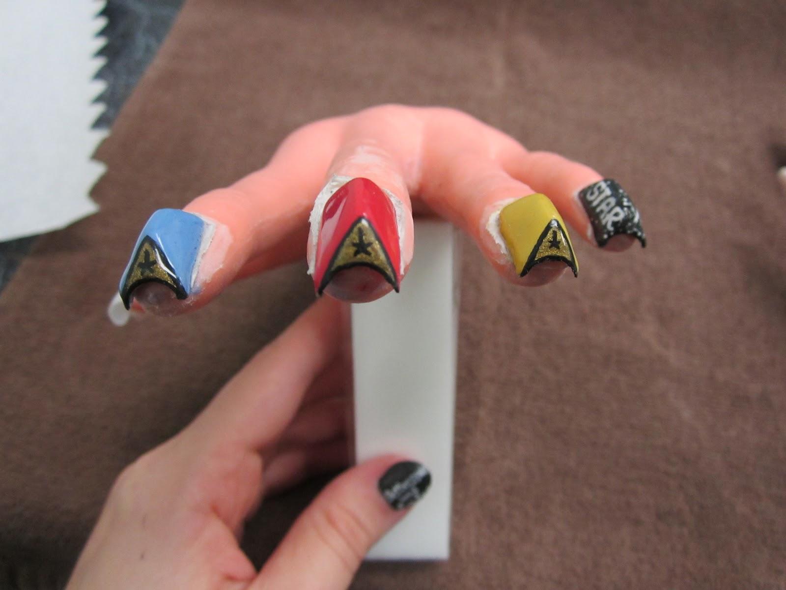 Nail Glue Changes Nail Shapes? Who knew? - YouTube |Odd Nail Shapes