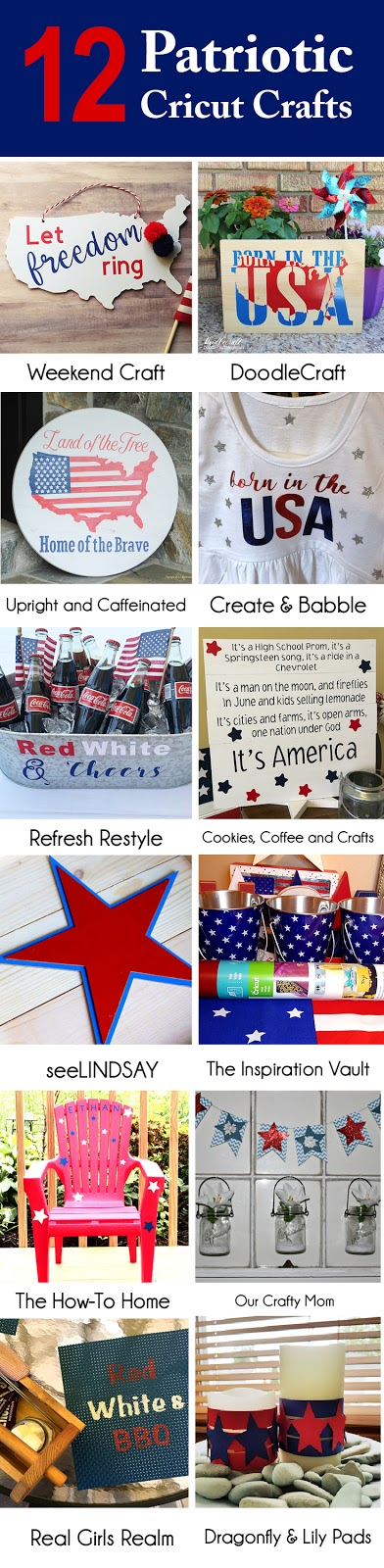 12 Patriotic Cricut Crafts - Craft and Create with Cricut