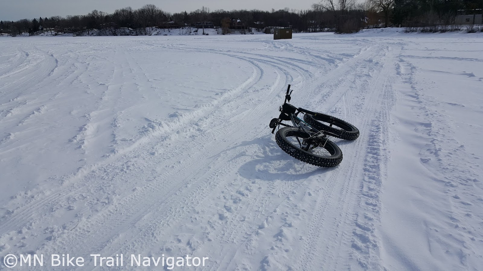 MN Bike Trail Navigator: Fatbike Ice Fishing and How to Do It