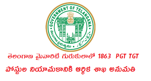 GO MS No 87 Recruitment of 1863 JLs PGT TGT Posts in TMRIES by TREI Recruitment Board  Public Services – Recruitment – Minorities Welfare Department - Filling up of eighteen hundred and sixty three (1863) vacant posts in Telangana Minorities Residential Educational Institutions Society (TMREIS) through  Direct  Recruitment – Permission to the Telangana Residential Educational Institutions Recruitment Board (TREI-RB) – Orders – Issued. go-ms-no-87-recruitment-of-1863-jls-pgt-tgt-recruitment-trei-board