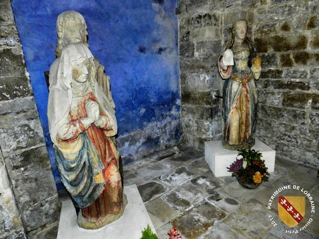 CONTREXEVILLE (88) - Pâmoison de la Vierge et Sainte-Marie-Madeleine (XVIe siècle)