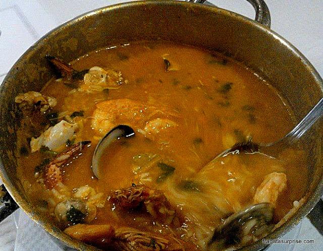arroz de mariscos, prato típico de Portugal