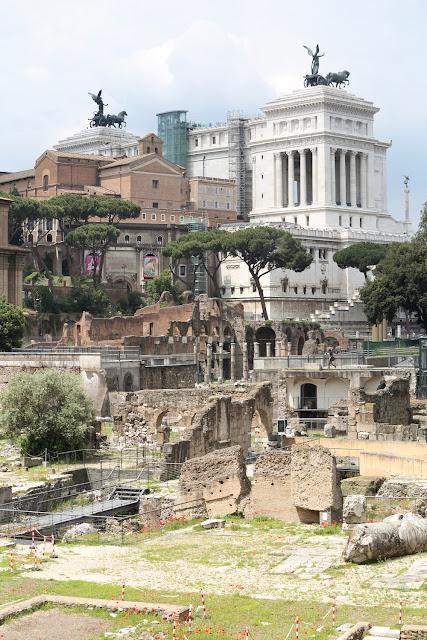Alte Steine in Rom