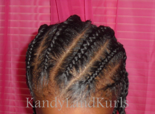 KandyLand: African Threaded Corkscrew Twists With Triangle