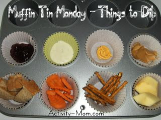 Muffin Tin Monday - Things to Dip