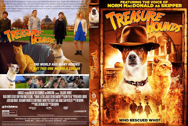 Treasure Hounds DVD Cover