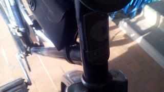 эмблема велосипеда Аист