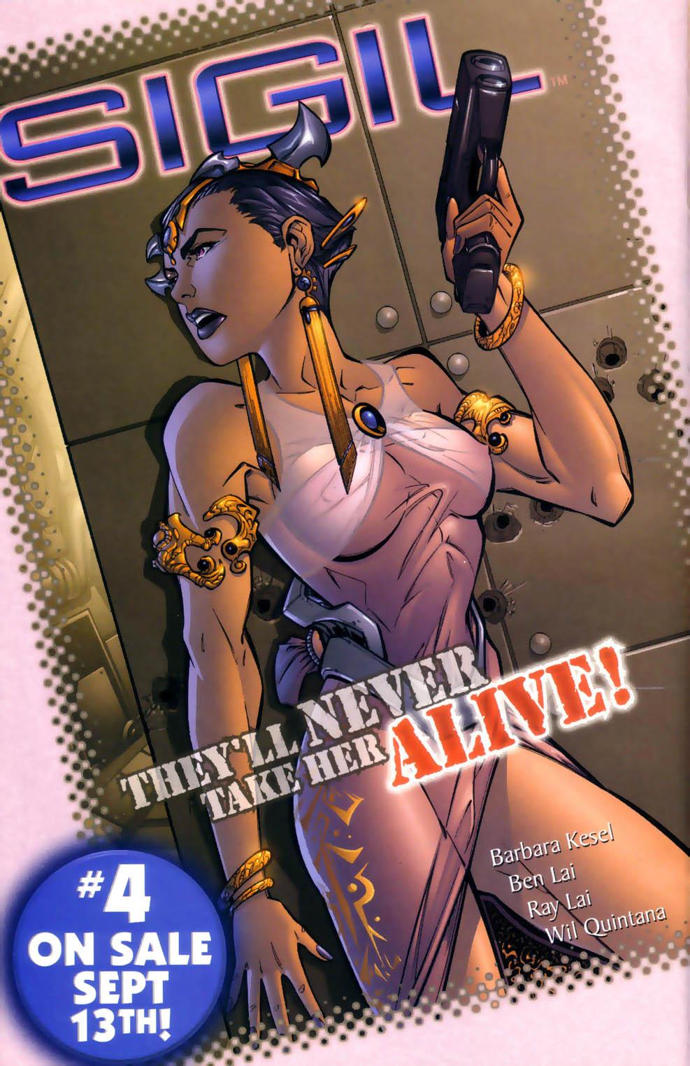 Read online Sigil (2000) comic -  Issue #3 - 25
