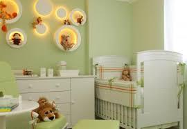 Nichos para quarto de bebe iluminados