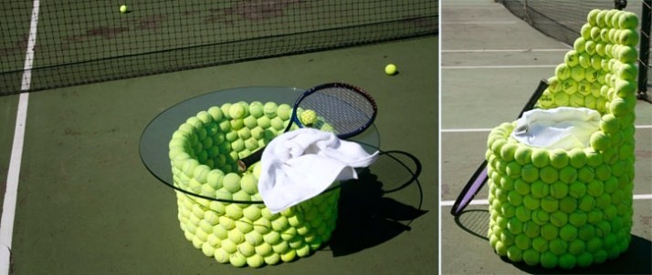 Phone Card Holder >> Creative and Cool Ways To Reuse Old Tennis Balls.