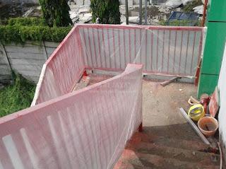 jasa pembuatan railing tangga minimalis