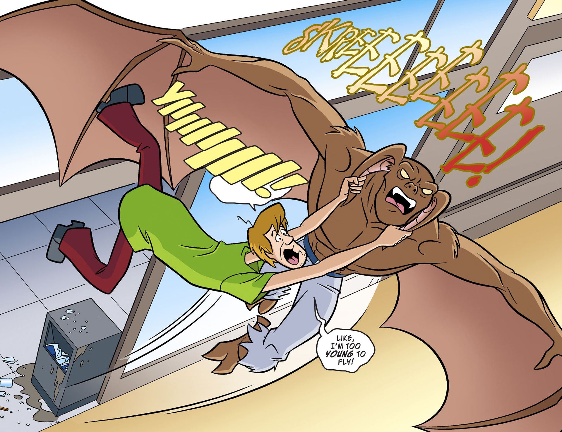Read online Scooby-Doo! Team-Up comic -  Issue #2 - 4