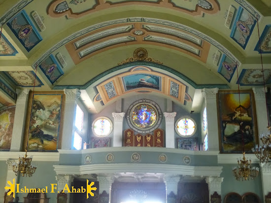 Inside Nasugbu Church