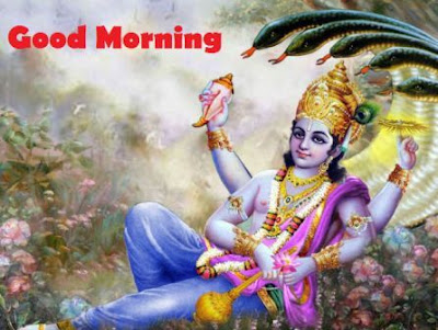 Good morning images god - vishnu god