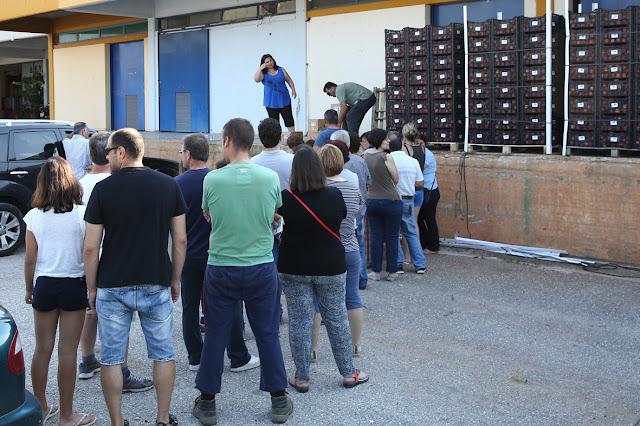 Δωρεάν διανομή ροδάκινων από τον Δήμο Άργους Μυκηνών στις ευπαθείς ομάδες