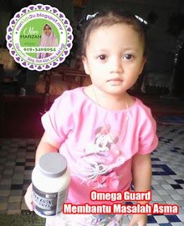 omega guard bantu atasi masalah asma anak