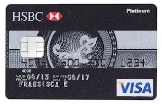 kartu kredit HSBC Visa Platinum