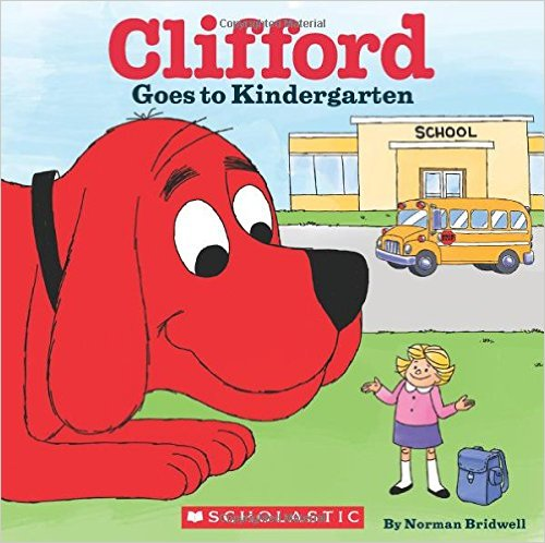 Clifford The Big Red Dog Goes To School