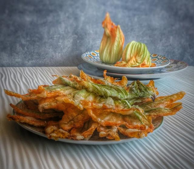 fiori di zucca fritti Ricetta Carlo Cracco