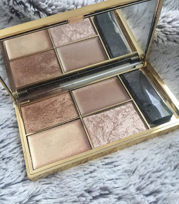 Sleek's highlighting palette in Cleopatra's kiss