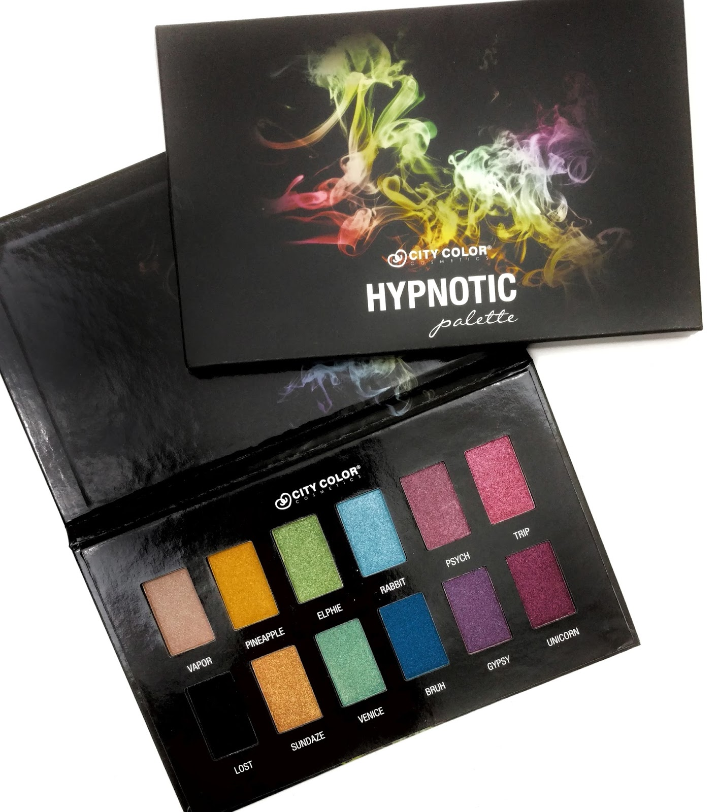 city color hypnotic eyeshadow palette review