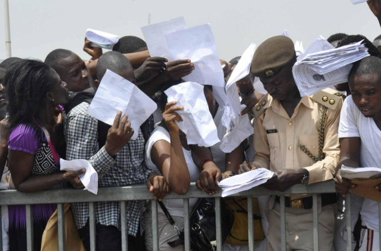 79.9 million nigerians unemployed