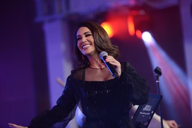 ديانا حداد تتألق مع الجمهور الكويتي في حفل ناجح بجميع المقاييس