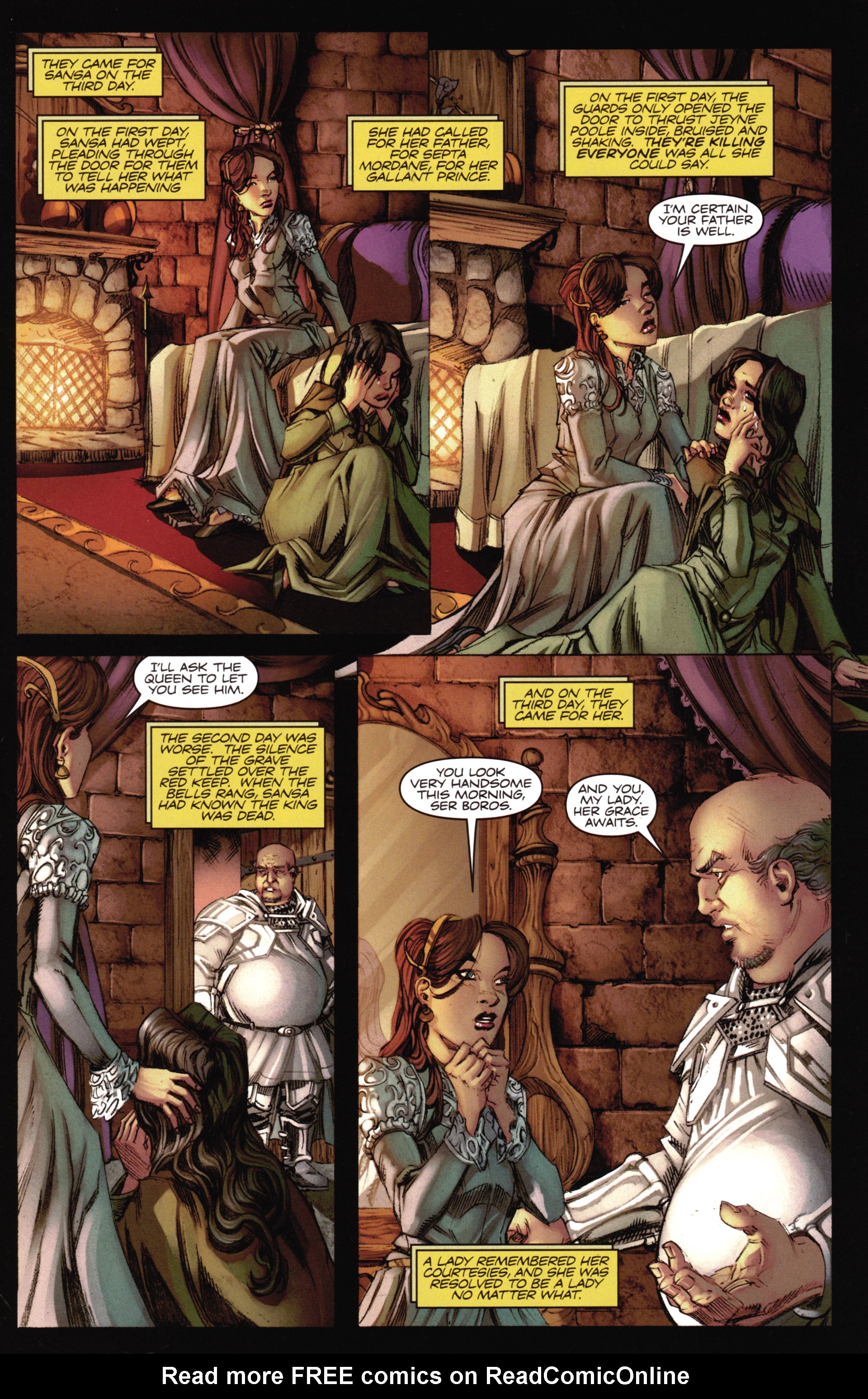Read online A Game Of Thrones comic -  Issue #16 - 26