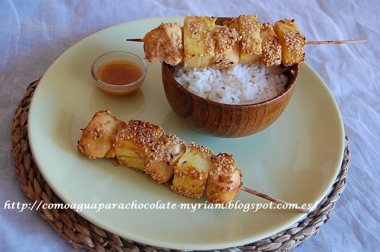 Image Result For Recetas De Cocina Brochetas De Pollo