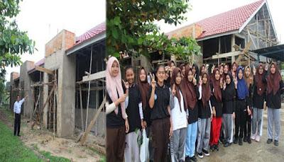 Indocement Bangun Gedung Laboratorium SMA Yasment Tarjun