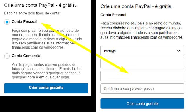 paypal guia tutorial conta pessoal grátis free