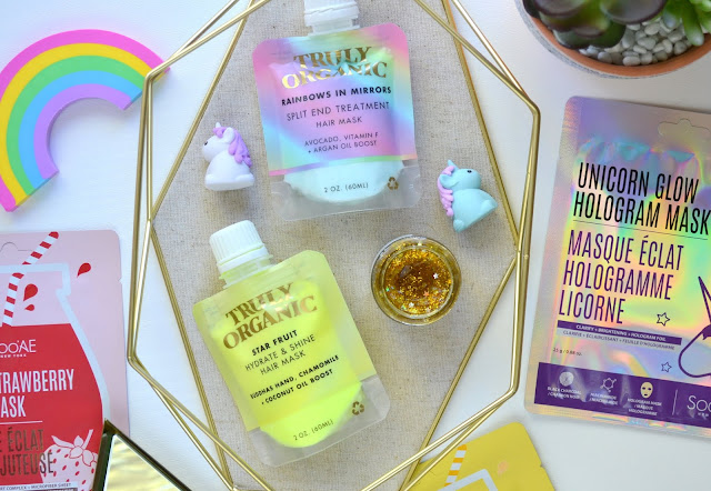 MASK | Truly Organic Rainbows in Mirrors, Star Fruit and the Star Kisser Jelly Lip Plumping Mask