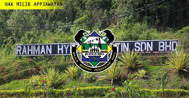 Majlis Daerah Pengkalan Hulu ,Perak