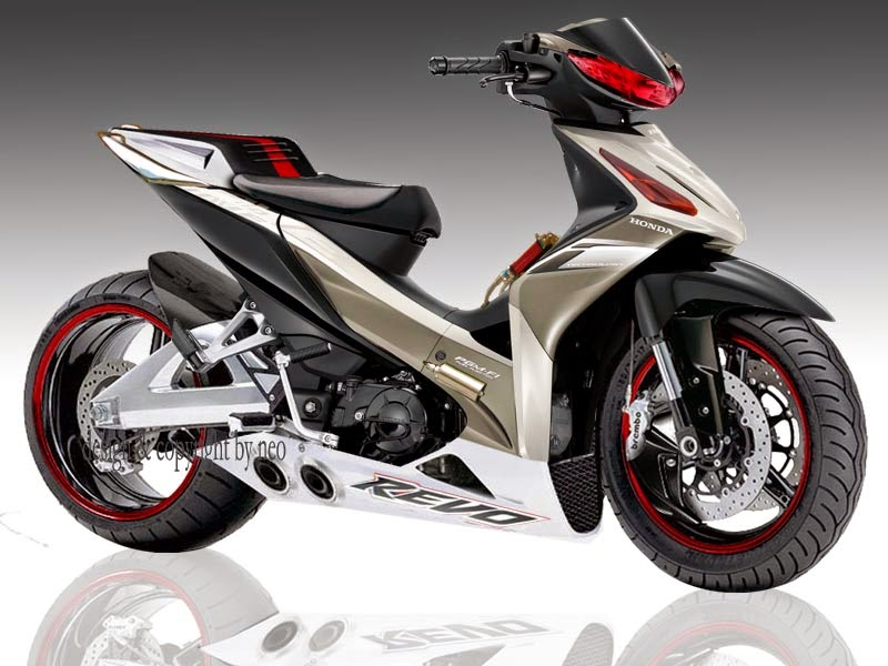 Modifikasi Honda Revo 2014