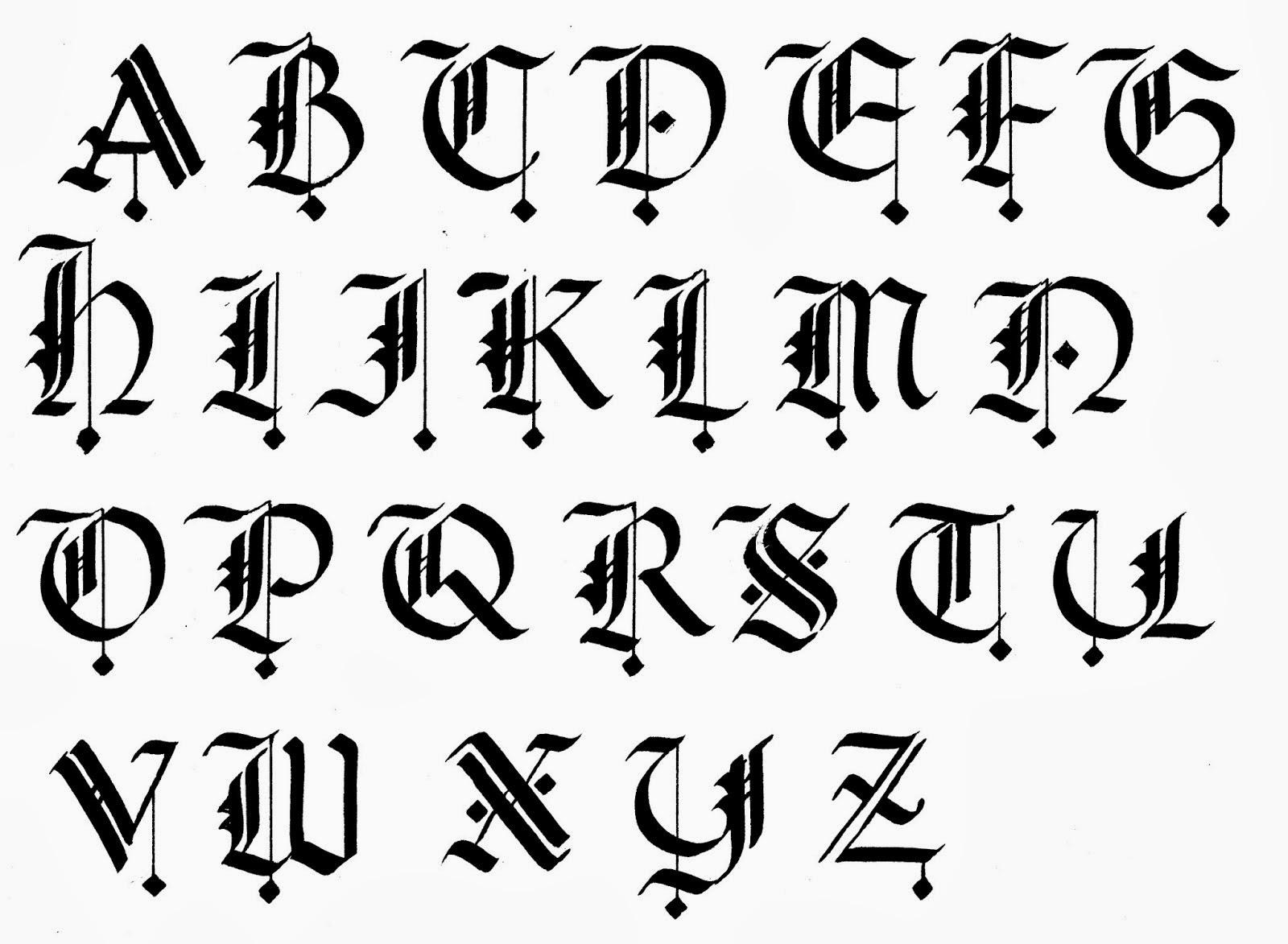 Gothic Handwriting   H...