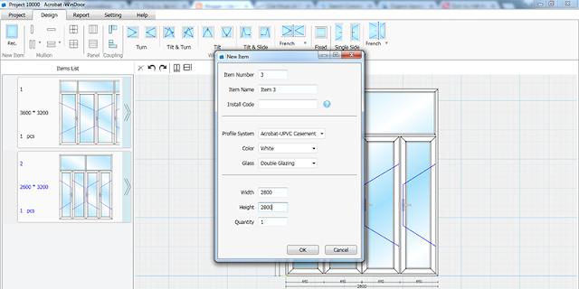 Sử dụng phần mềm thiết kế cửa Iwindoor để chọn kích thước cửa chính cho chuẩn