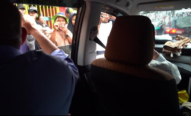 Lagi, Sandi Diteriaki Segerombolan Pendukung Jokowi di Surabaya