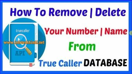 Remove /Hide Your Name Number from True Caller