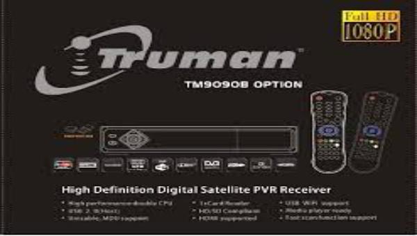سوفت وير جديد رسيفر truman-TM 9090 B OPTION بتاريخ شهر 4-2016