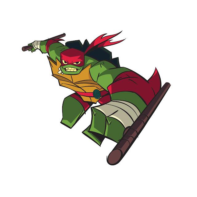 Tartarugas Ninja Raphael