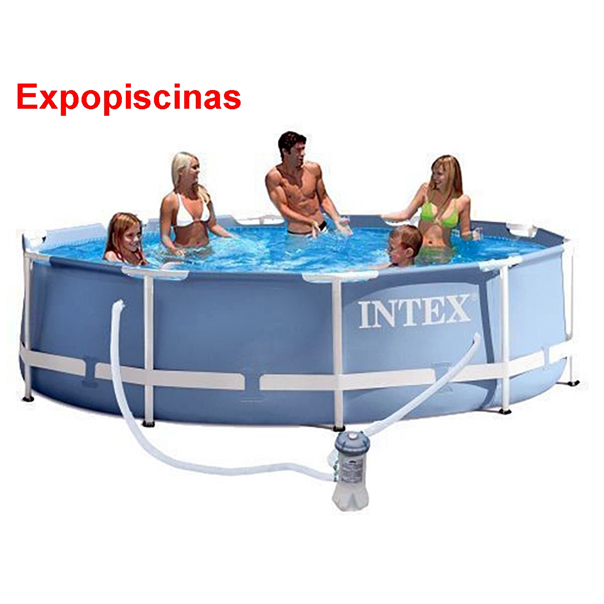 Piscina De Plastico 12000 Litros Intex Expo Piscinas