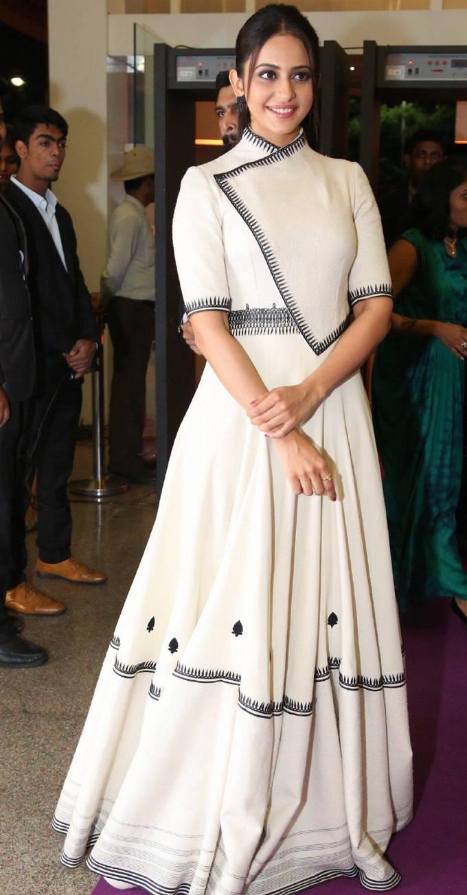 Actress Rakul Preet Singh Stills at Food For Change Event