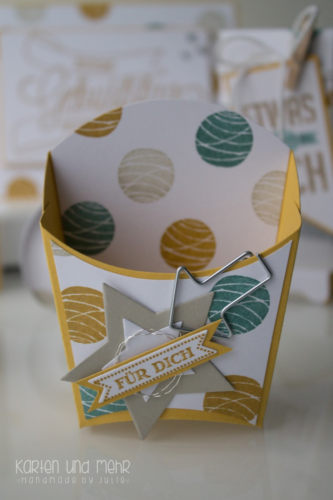 Stampin Up Pommes-Frites-Box