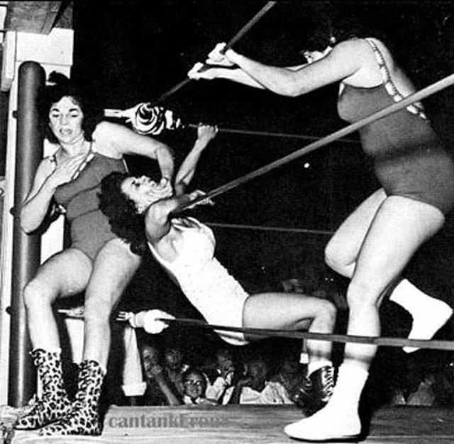 Vintage womens wrestling